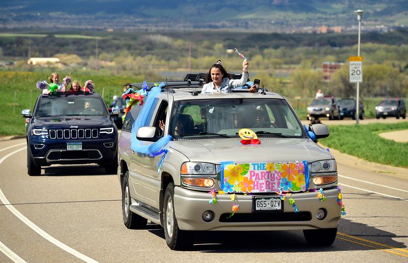 2020 Graduation Parade Boulder