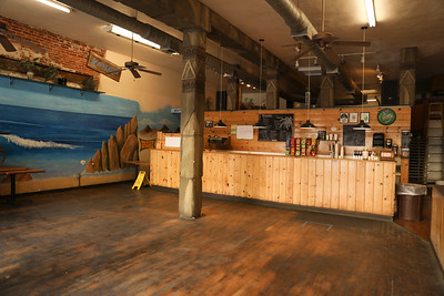 Kona's has been open for take-out. It is too soon for its owners to say when they will allow customers to dine in on Tuesday, May 12, 2020, in Chico. (Carin Dorghalli -- Enterprise-Record)