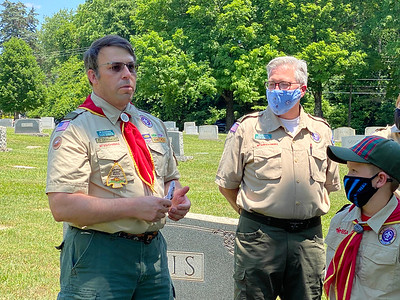 J. D. Densmore, a West Point graduate and former Army officer, currently serves as an Assistant Scoutmaster with Troop 58.