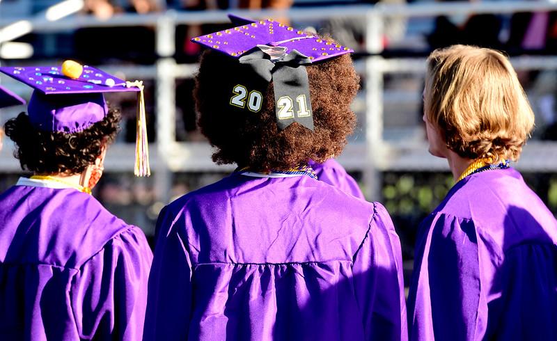 Boulder High School graduation 2021