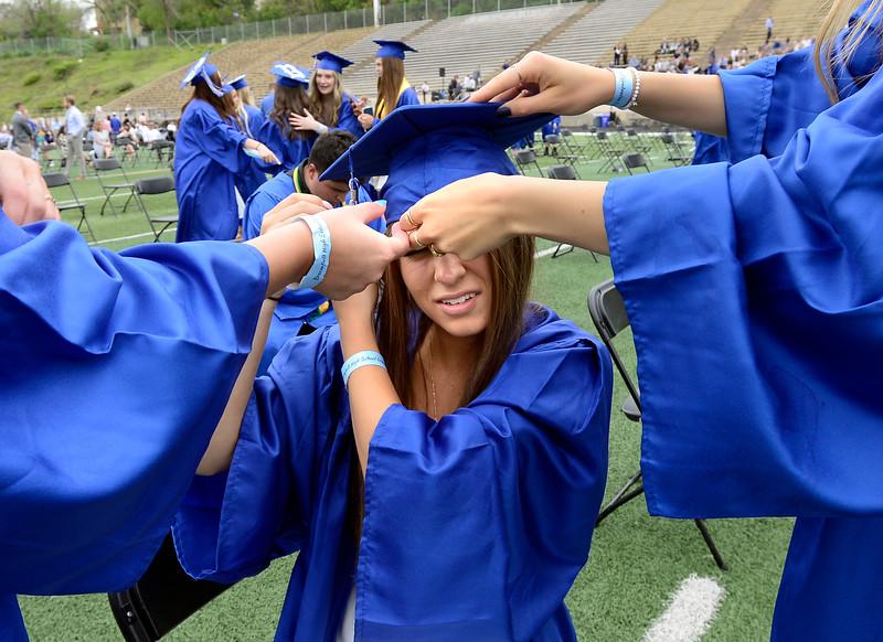Broomfield High School graduation 2021