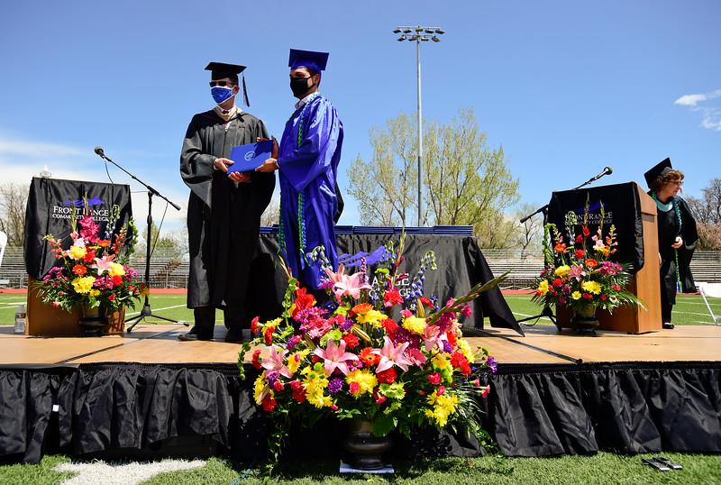 Front Range Community College Graduation at Longmont High School