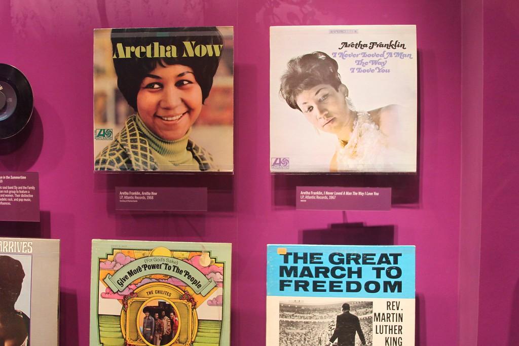 Aretha Franklin's records