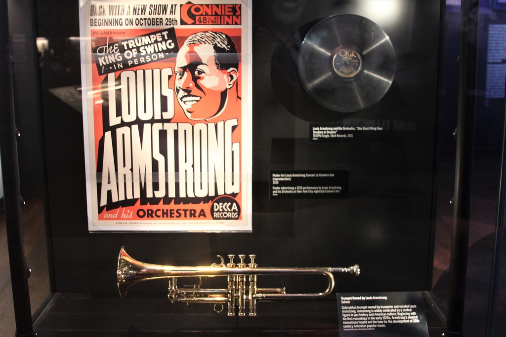 Louis Armstrong's trumpet