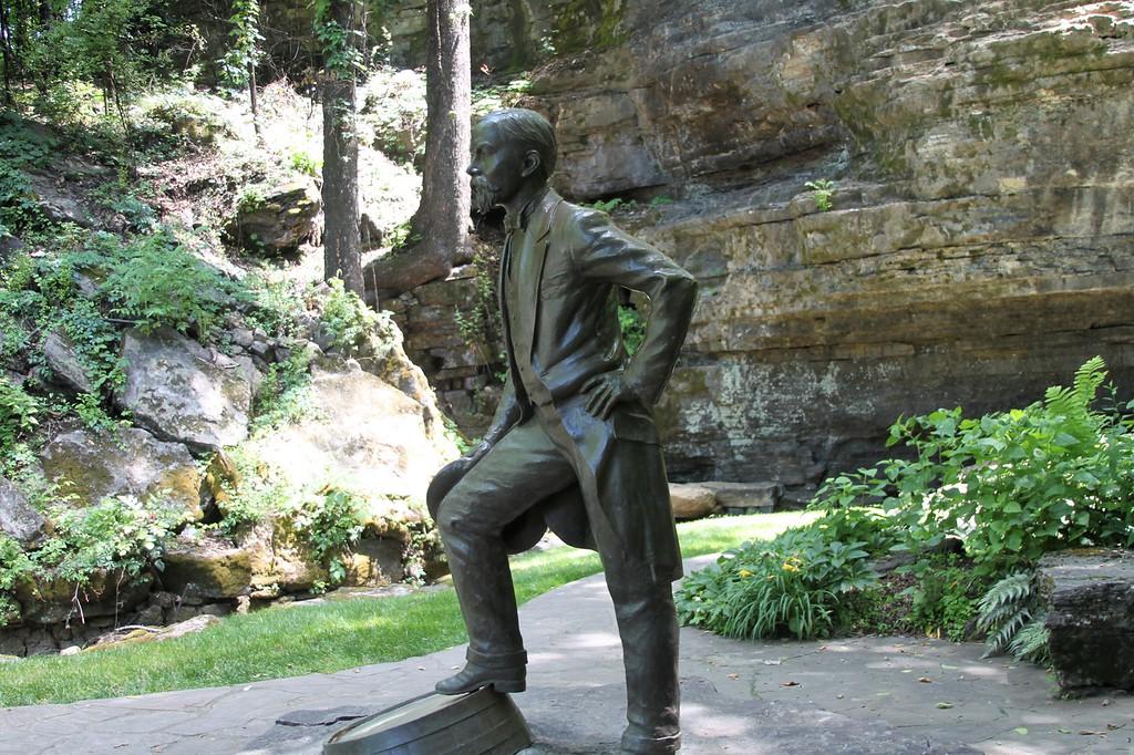 Jack Daniel at the Cave Spring