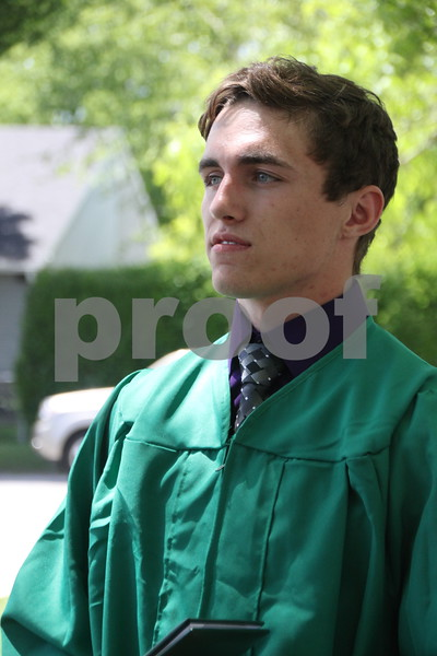 Shown here is: Payton Sitzmann who graduated from Saint Edmond High School which held commencement on Sunday, May 22, 2016 at the Saint Edmond High School in Fort Dodge.