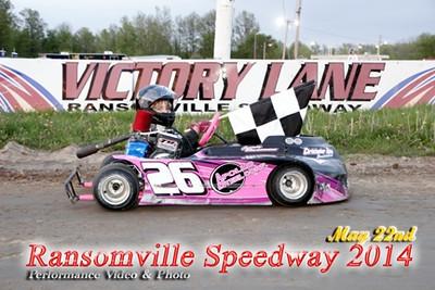 Ransomville speedway go karts