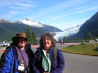 Vickie & Linda Mendenhall Glacier