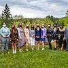 Scee at North Country School graduation, May 2021. photo by Nancie Battaglia