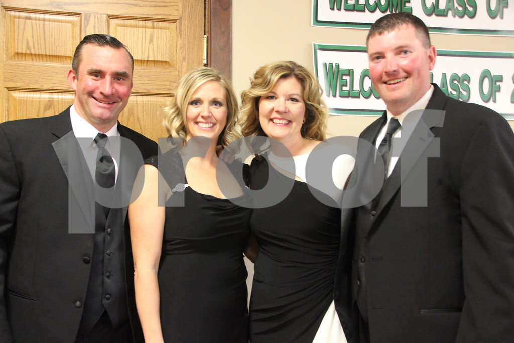 Saturday, May 7, 2016, the Friends of Saint Edmonds Ball took place at the Starlite Village in Fort Dodge. Shown here (left to right)is: Mark Laufersweiler, Susan Laufersweiler, Kim Galles, and Nate Galles.
