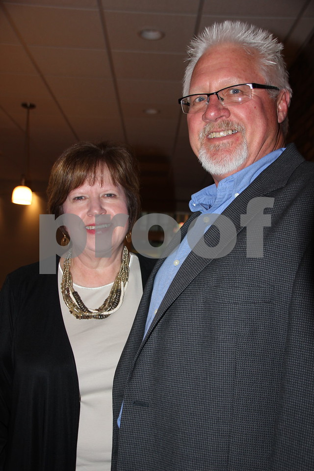Saturday, May 7, 2016, the Friends of Saint Edmonds Ball took place at the Starlite Village in Fort Dodge. Pictured (left to right) is: Ron and Diane Grebner.