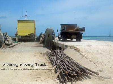 Floating Truck Barge
