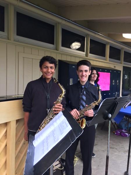 Kent Jazz Band members
