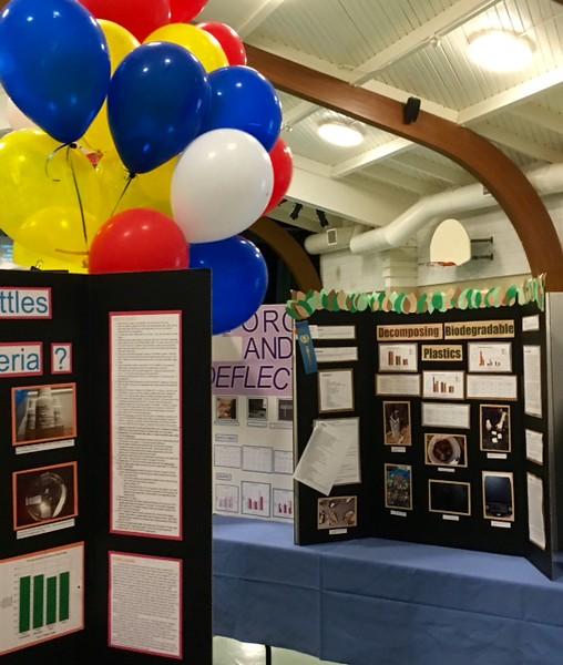 Kent Science Fair Display