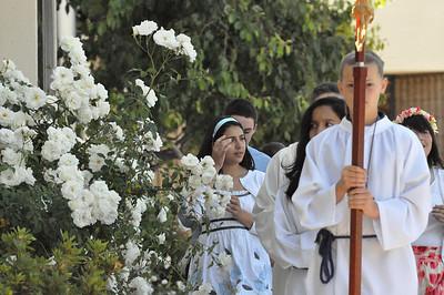 May Procession at ST. Mel