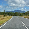 On the road to Cooktown. Mt. Carbine lies ahead.