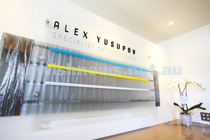 19-5-14. Alex Yusupov. Specialist Orthodontist at his new practice on Wattletree Rd, Armadale. Photo: Peter Haskin