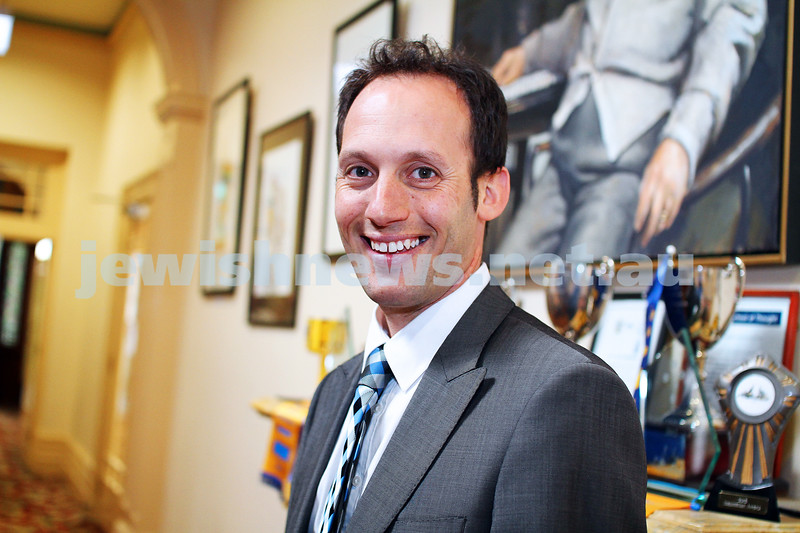 6-5-14. New principal of The King Davis School. Marc Light. Photo: Peter Haskin
