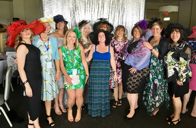 Folks in their finery at the fifth annual Greater Lowell Derby Party, hosted in May at Four Oaks Country Club in Dracut.