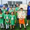 Team Lighting Bolts at Puma's annual Field Day for the Boys & Girls Club of Greater Lowell at Cawley Stadium in July