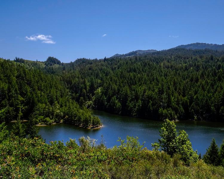 Mount Tamalpais and Alpine Lake