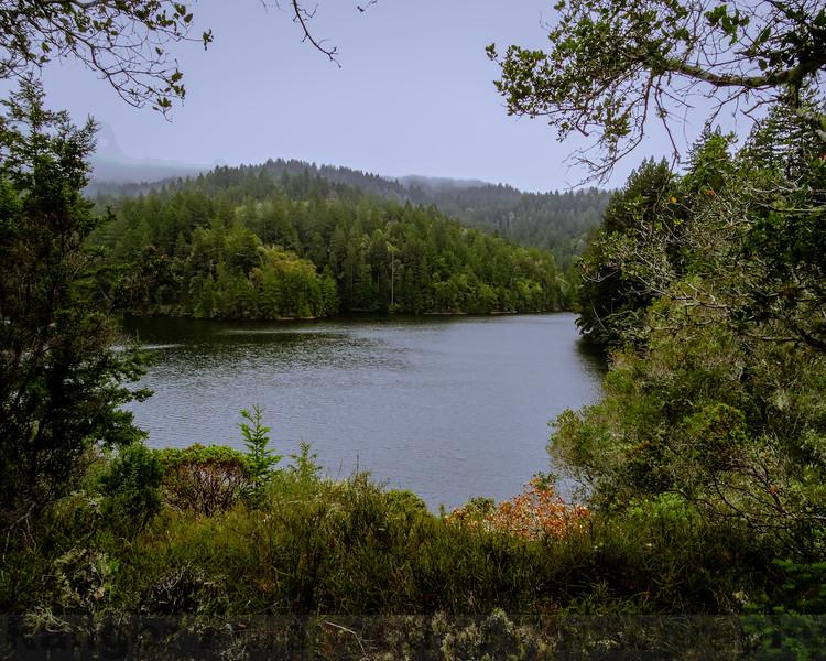 Alpine Lake Framed