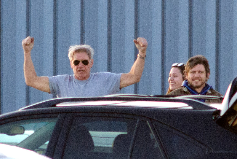 May the force be with Harrison Ford