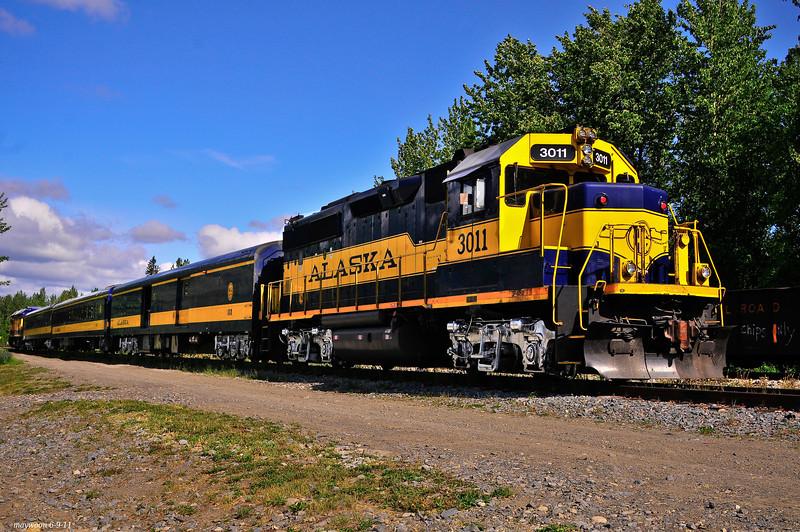 Train at Talkeetna 6-9-11