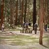 Birders looking for Koalas in Australia-Brisbane-Daisy Hill 10-31-09 Diane, Steve, Dion