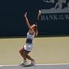 Dominika Cibulkova -Slovakia defeated Nadia Petrova (rank 7) Russia 6-4,3-6, 6-3