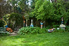 Demi transform this 11 acre park into a magical sculpture garden more than 20 years ago and didn't stop until his retirment at 68.<br /> 8-23-08