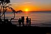 Sunset at Thorton State Beach 1-23-11