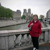 Ann Marie in Paris at the Seine River 4-28-05