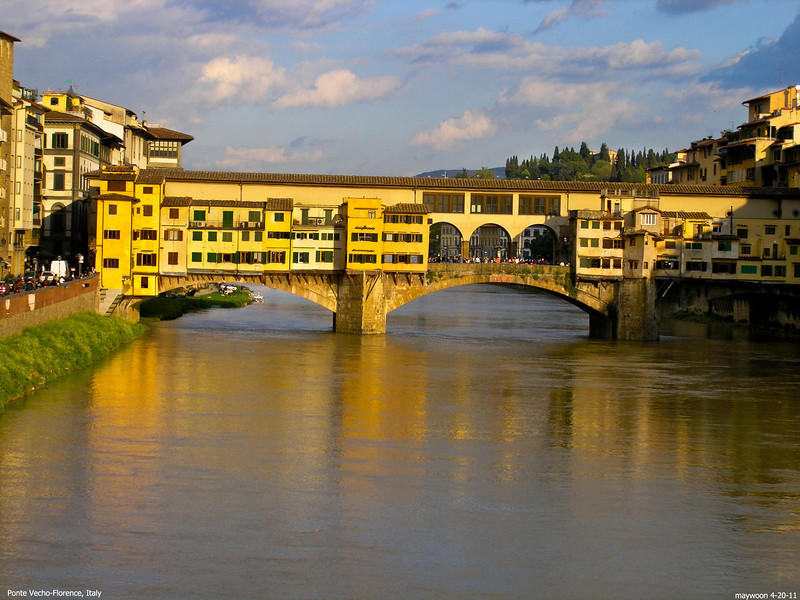 Ponte Vecho 4-20-05 , Florence ,Italy