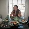Milan-Yummy pancakes with berries 8-29-10