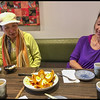 Lunch after Pickleball with Christine Yuen & Julie Lee @ Majikku Ramen 1-18-18. We had Kabocha-Korokke (fried pumpkin with boiled egg inside)