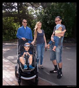 Rod & Katina's Family-SFZoo