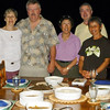 This photo was by- Bill Murphy's camera-Nikki-Larry-Louise-May-Bill 6-22-12-our last night at Tobago (Cuffie River Retreat)