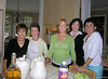 End of Season Party at Barb's house (Senior League)-Pat-Diane Currie-Michelle Carson-Nancy Farrell 6-24-05