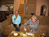 Diane and Kerry snacking Carmel 5-19-06