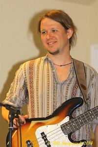 Ian Stoltz with Allen Christie - Alberta's Men & Women of Country Music 2014
