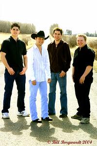 Ben Bradley, Aaron Goodvin, Dylan Gillette, Matty McKay - Aaron & Fast Lane 2004