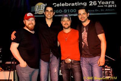 Matty McKay, Ben Bradley, Aaron Godvin, Dylan Gillette - Fast Lane Reunion at LBs