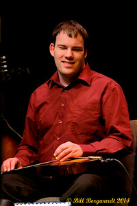 Jeremy Rusu - Blind multi-instrumentalist - Calvin Vollrath 2014 Fiddle Gala
