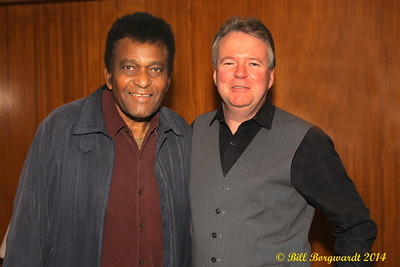 Charley Pride & Brian Edwards, President of Rocklands Entertainment - 2014