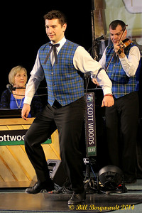 Kyle Waymouth - step dancing demonstration - Scott Woods - Old Time Jubilee 2014