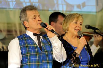 Tommy Leadbeater & Lynda Lewis - Scott Woods - Old Time Jubilee 2014