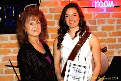 Maryanne Gibson, Global Country CEO, and Julia Nicholson - Youth Winner - Star Search 2014