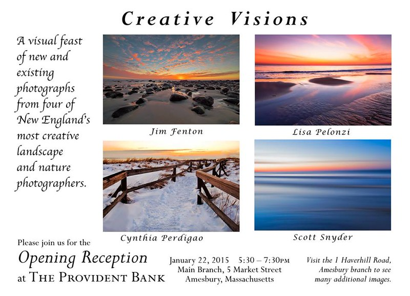 A Four-person show at Provident Bank, Amesbury MA