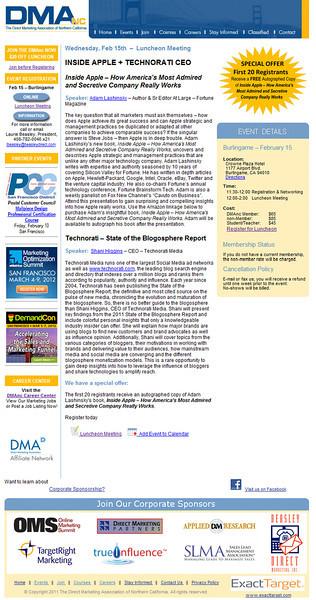 DMANC (Direct Marketing Association Northern California)